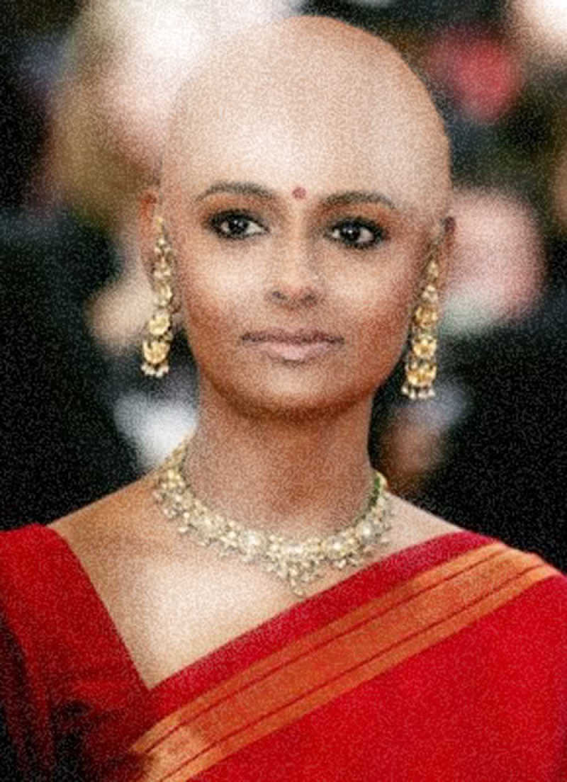 Image result for bald nandita das