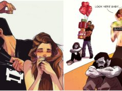 Marriage, life, Illustrations