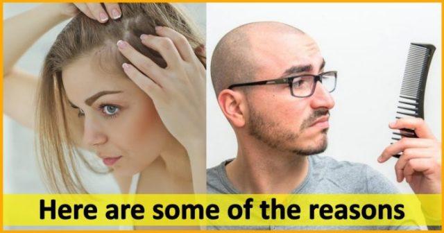 Hair Loss, reaons, age, stress, depression,