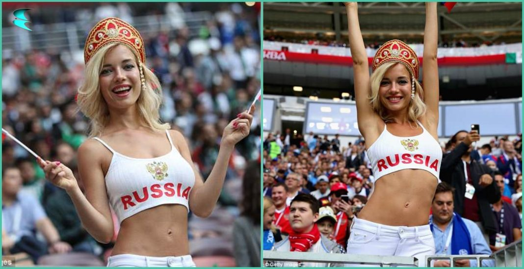 Russian, Fan, Supporter, porn star, football