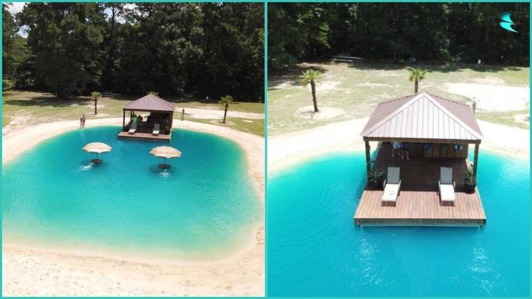 Homeless man, Millionaire, Dream, Beach, Backyard, swimming pool,