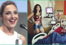 Gal Gadot, Children's Hospital, Wonder Woman,
