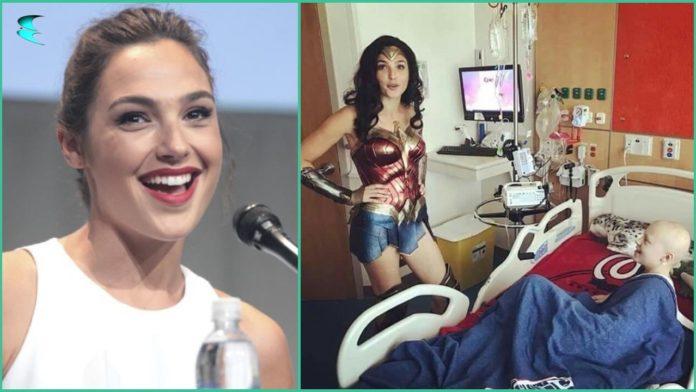 Gal Gadot, Children's Hospital, Wonder Woman,