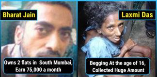successful, beggars, career, choices, richest beggar of india, Sambhaji Kale, Sarvatia Devi, KrishnaKumar Gite, Laxmi Das,