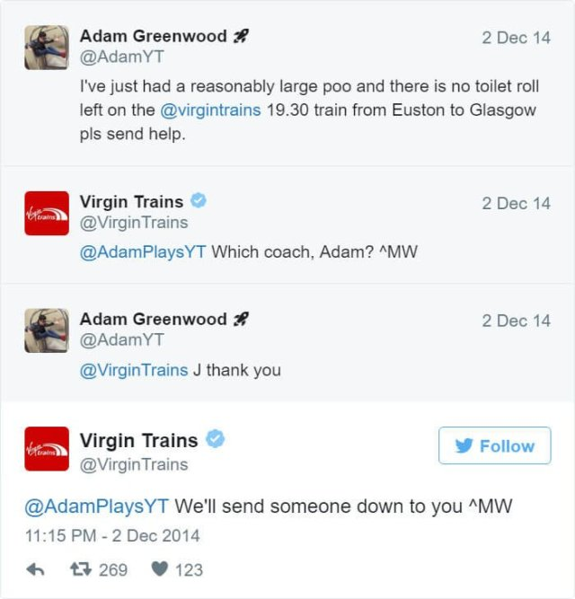 Hilarious, Twitter, Exchanges ,