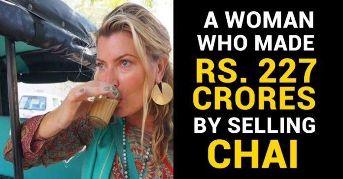 Woman , Selling Chai, Milliionaire