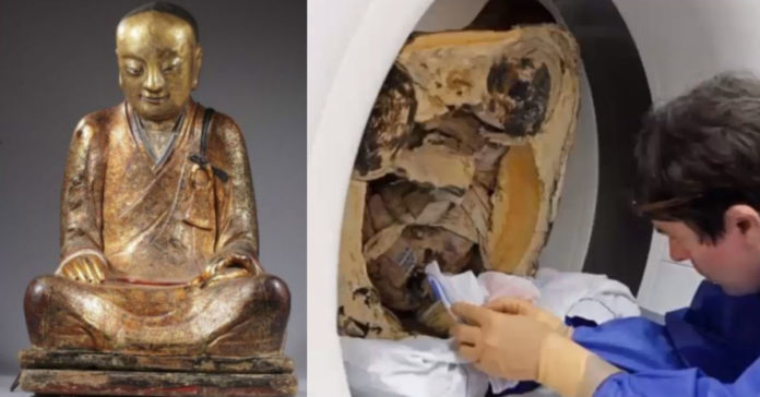 Scientists , scanned, statue , discover , inexplainable , artefacts ,