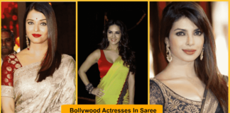 Bollywood, Actresses, Saree, figure,