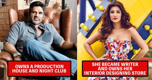 bollywood actors , successful, side business