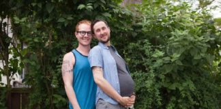 suppose , pregnant man, viral