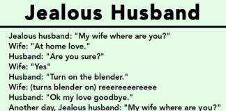 jealous, husband, Laughter , powerful ,