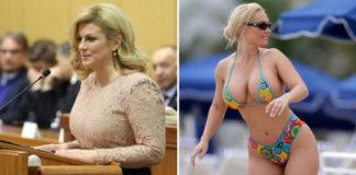 Croatian, president, mistaken, hottest, world