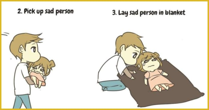 Person , Take Care , different ways,