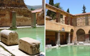 Roman, Bathhouse, Built, Years, Running, green pines, Mountains , lies, Situated , theemergingindia, Emerging India