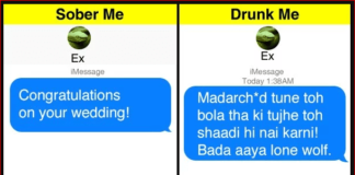 Funniest , Sober vs Drunk, Texts, Exes , feeling , sending , theemergingindia, Emerging India