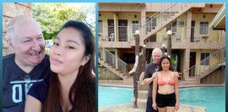 Love story, Filipino Woman , British Man, flaunting , majority , age gap, 48-year-old age gap