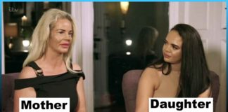 Money, mother, daughter, sleep, stranger, motherhood, cosmetic surgery,