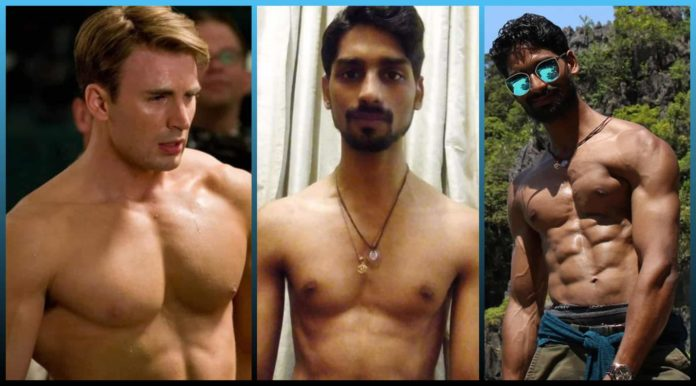 Skinny, Boy, Inspired, Captain America, Transforms, Body, Enterainment, Fans, Attachted, Characters,