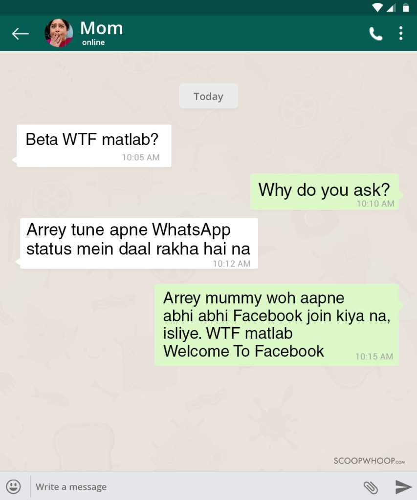 12 Whatsapp Conversations With Indian Parents That Are Funny