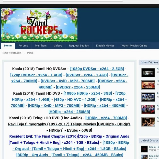 TamilRockers, piracy website, KickassTorrent, international piracy rackets, Piracy cell