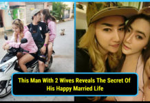 extramarital affairs, Man With 2 Wives, Reveals , The Secret Of Happy Married Life, girlfriend, viral