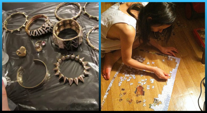 mind, clean, Jewellery, Painting, nail art, crossword puzzle, Things To Do When You Are Bored