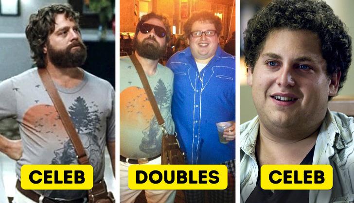 Exact Celebrity Lookalikes , doppelganger, Selfie , Michael Fassbender,