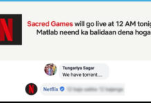 Sacred Games Season 2, Netflix , Torrent, netflix reply,