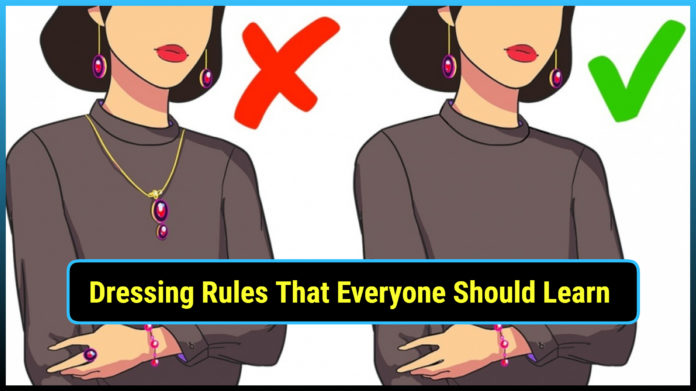 Dressing, rules, learn, channel, coco channel, remember, rules of dressing