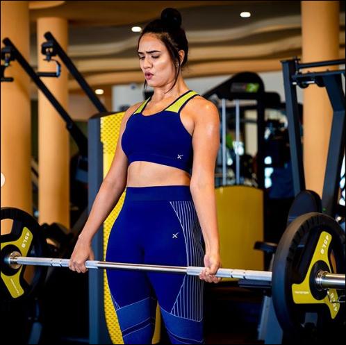 Beautiful, Fitness Trainer, India,  glimpse, impression ,