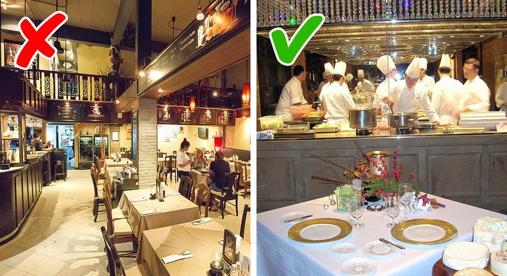 Chefs, Dark, Secrets of Cafes, Restaurants , Notice , certain chain, quality,