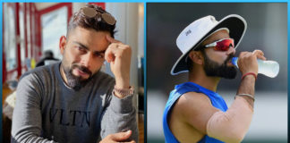 Virat Kohli drinking water, Price of Virat Kohli water bottle , Indian skipper , cricketer, fittest cricketers