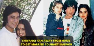 Love story, Shakti Kapoor, Shivangi Kolhapure, Typical Bollywood Romantic,