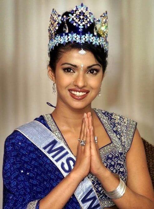 Priyanka Chopra Miss Worlds pageant 2000 1