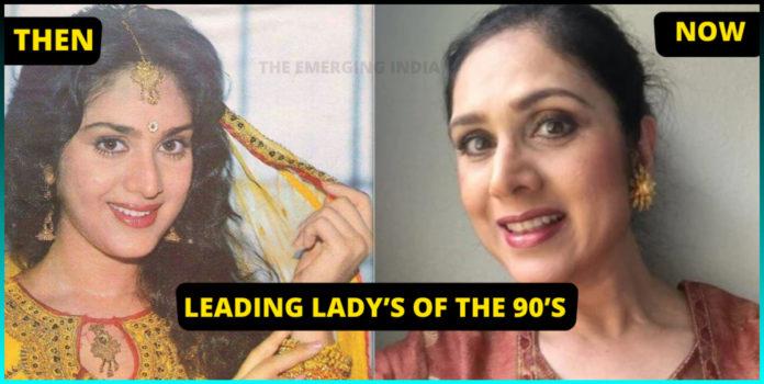 Leading Lady, Actresses Transformation, Bollywood actresses , 90s Bollywood actresses, Kimi Katekar, Mamta Kulkarni, Meenakshi Seshadri, Meenakshi Seshadri, Anu Aggarwal,